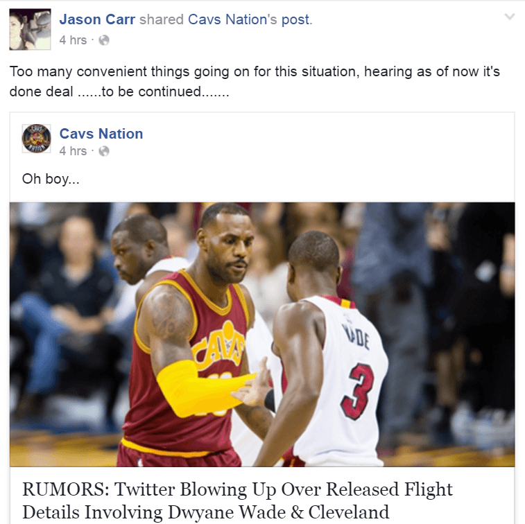 PHOTOS: Austin Carr's Son Claims To Have Inside Information On