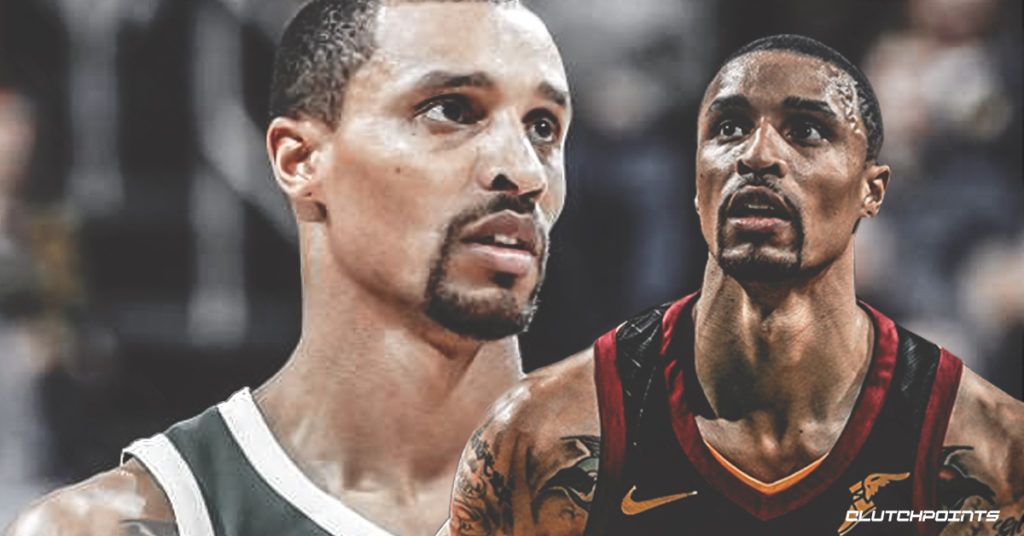 George Hill says no hard feelings with former Cavs teammates after trade to Bucks