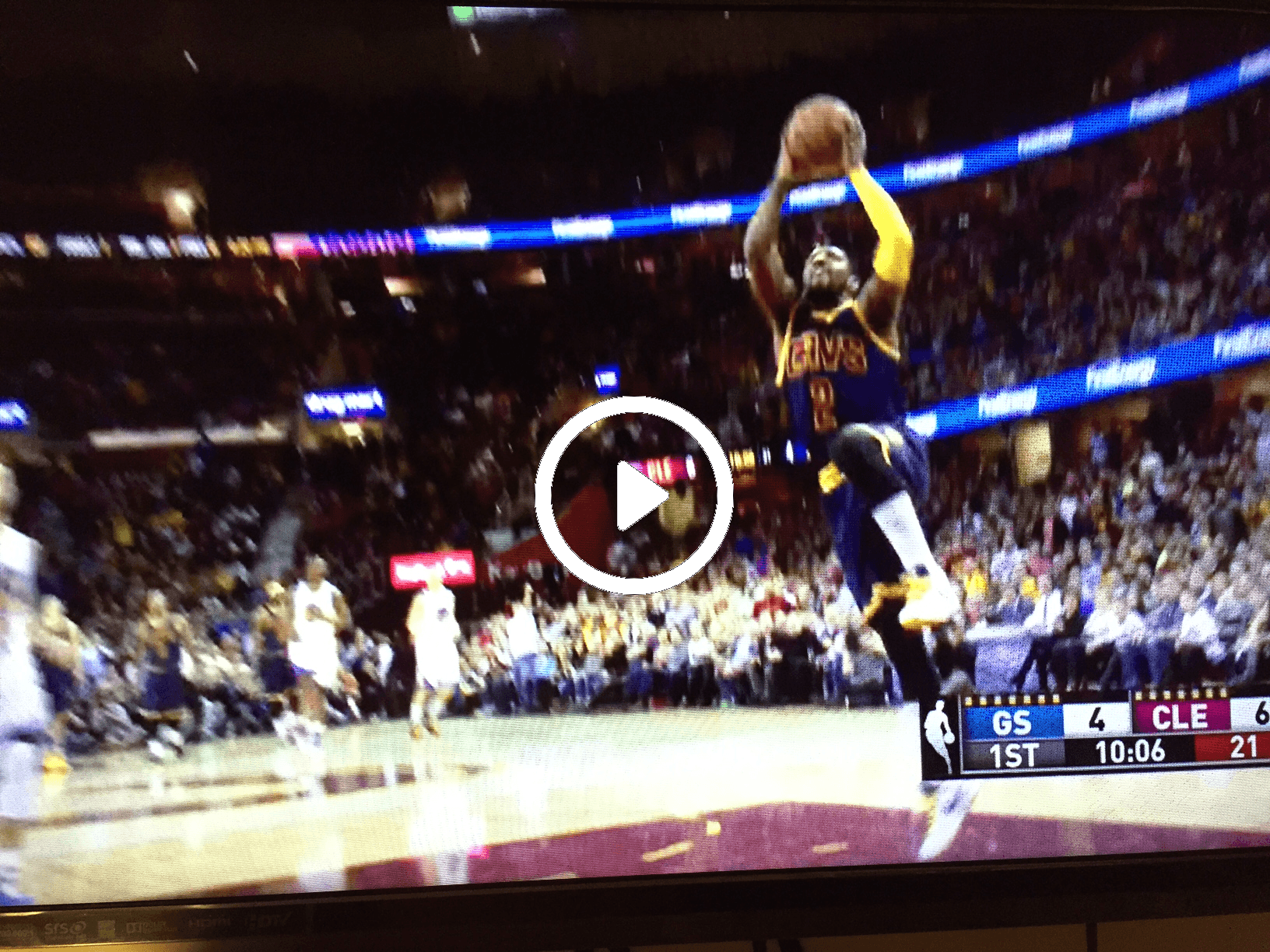 Pictures of kyrie irving dunking in house