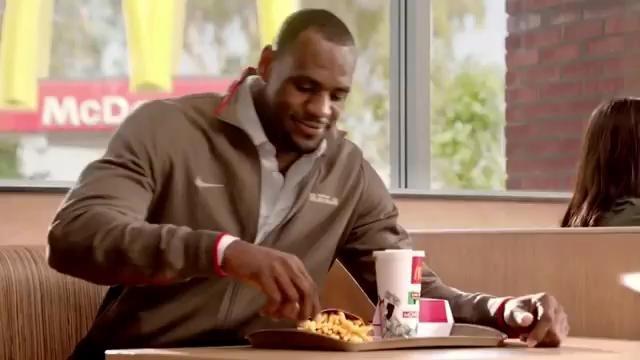 Athletes Eating Junk Food