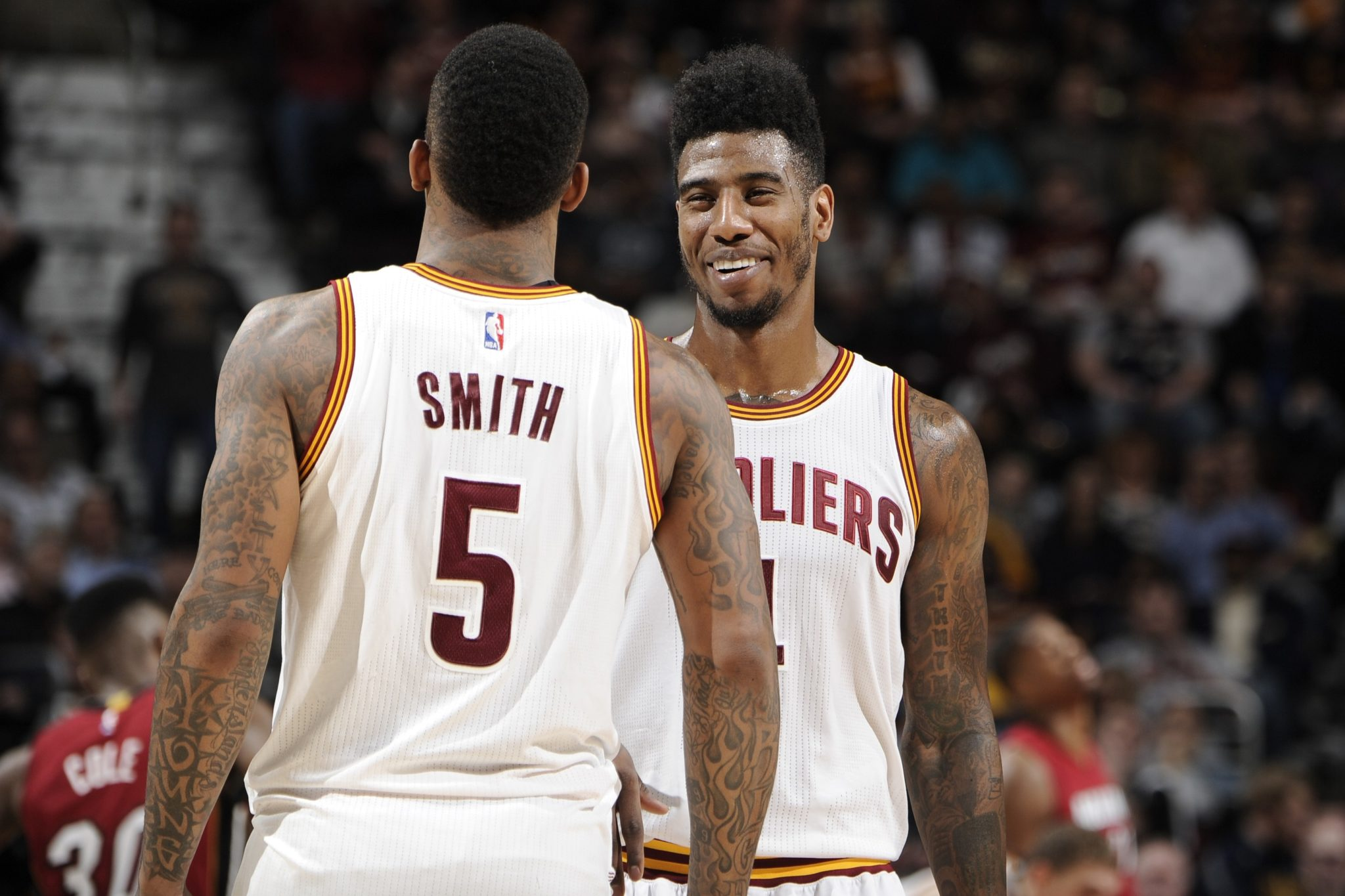 Superb Should Iman Shumpert Or J R Smith Start For The Cavs Cavs Nation Hairstyles For Women Draintrainus