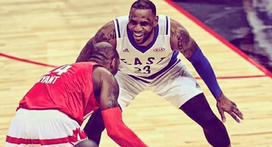 LeBron James, Kyrie Irving Explode Watching Vintage Kobe ...
