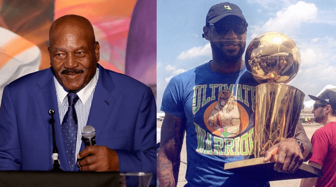 67142a09170 Cleveland Browns Legend Jim Brown Says Only One Way To Commemorate LeBron  James  Legacy