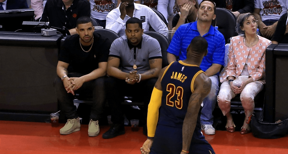 VIDEO: Drake Bet Against LeBron James And The Cavs In NBA Finals