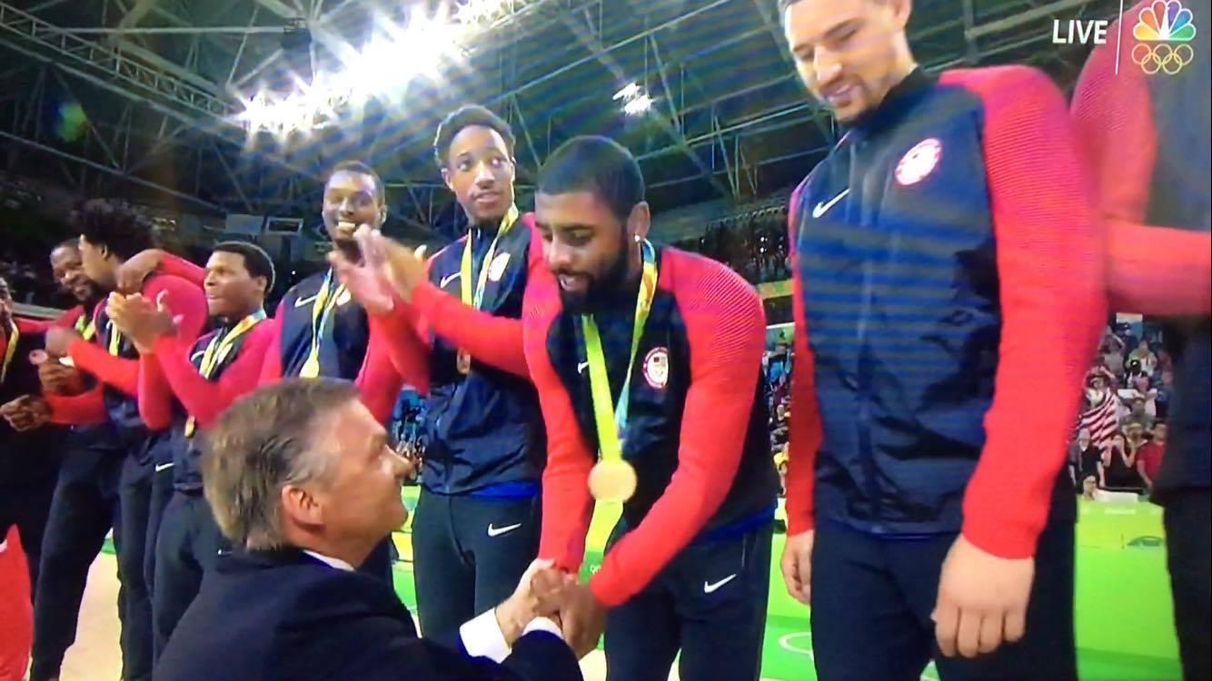 Kyrie Gold Medal Olympics