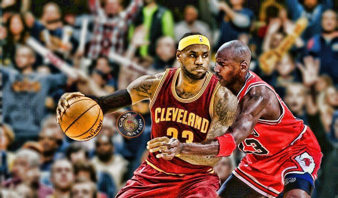 LeBron James And Michael Jordan Are Considered By Most To Be Two Of The Greatest Players Ever Play In NBA With Them Playing Different Generations
