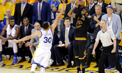 Kyrie Irving The Shot Stephen Curry