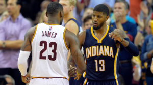 Paul George LeBron Cavs Message