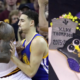 Klay Reacts LeBron Halloween Cookies
