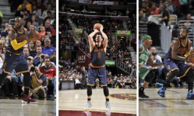 LeBron Kyrie Love Cavs Celtics Recap