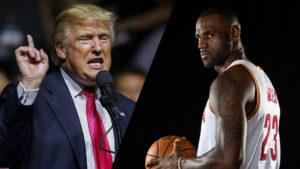 LeBron James, Donald Trump