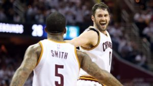 Kevin Love, J.R. Smith