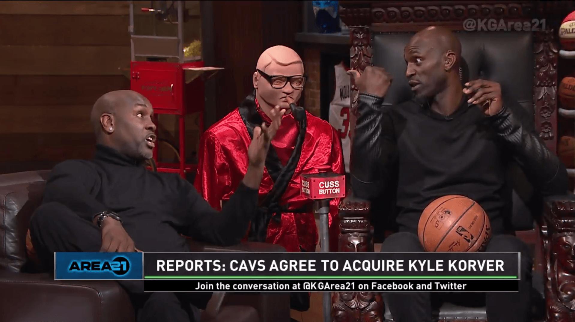 Kevin Garnett Gary Payton Korver Cavs Trade