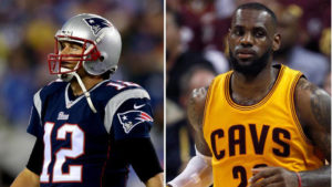 Tom Brady, LeBron James