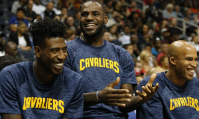 Iman Shumpert, LeBron James, Richard Jefferson
