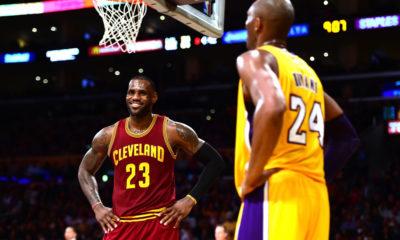 Kobe LeBron Smile