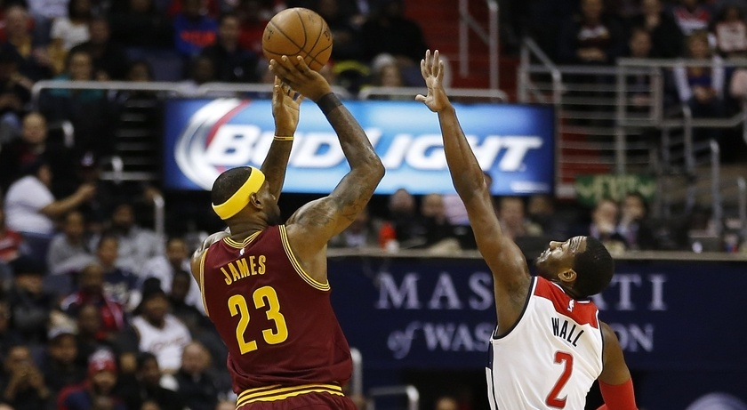 hot sale online b83e1 6fe5c John Wall views LeBron James as a friend and mentor