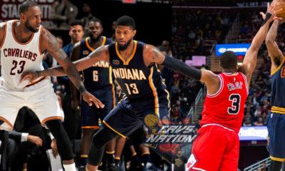 LeBron Kyrie Cavs Pacers Bulls Playoffs LOGO