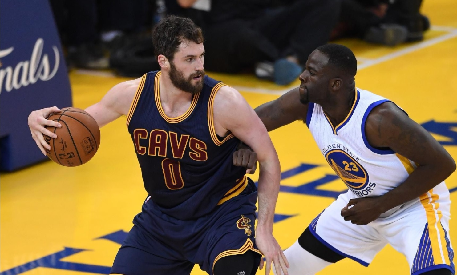Kevin Love Draymond Green Said He Wanted Us Now He Has