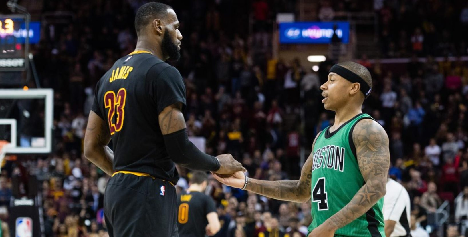 LeBron James, Isaiah Thomas, Cavs, Celtics