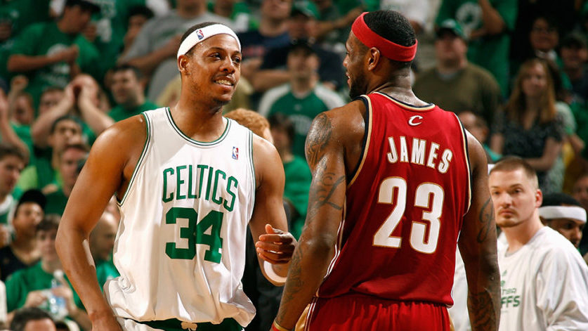 purchase cheap 6cb5e d468b Paul Pierce gives his take on why LeBron James would not be ...