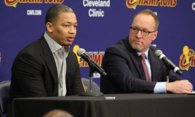 Tyronn Lue David Griffin