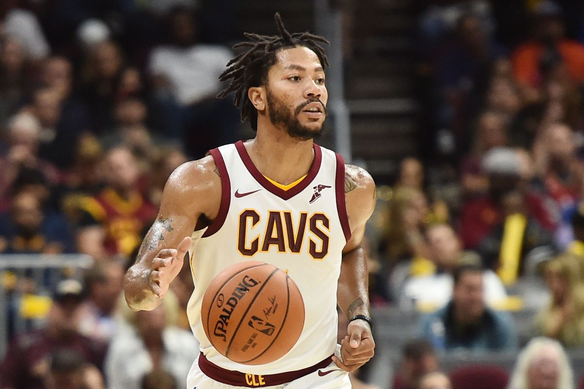 Cavs news derrick rose relishes freedom in cleveland that - Derrick rose cavs wallpaper ...