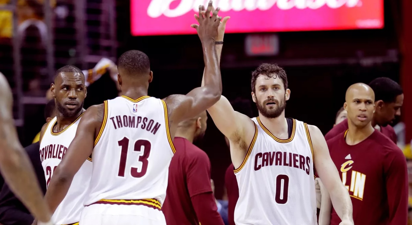 Kevin Love Tristan Thompson