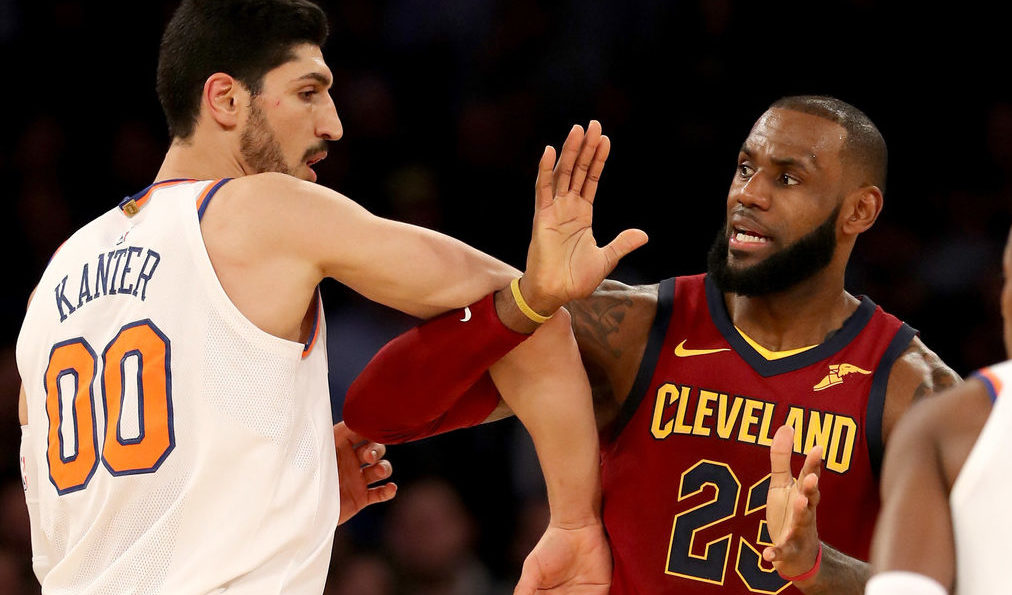 Enes Kanter, LeBron James
