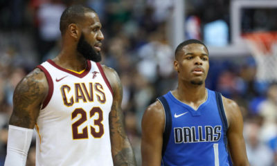 LeBron James, Dennis Smith Jr.