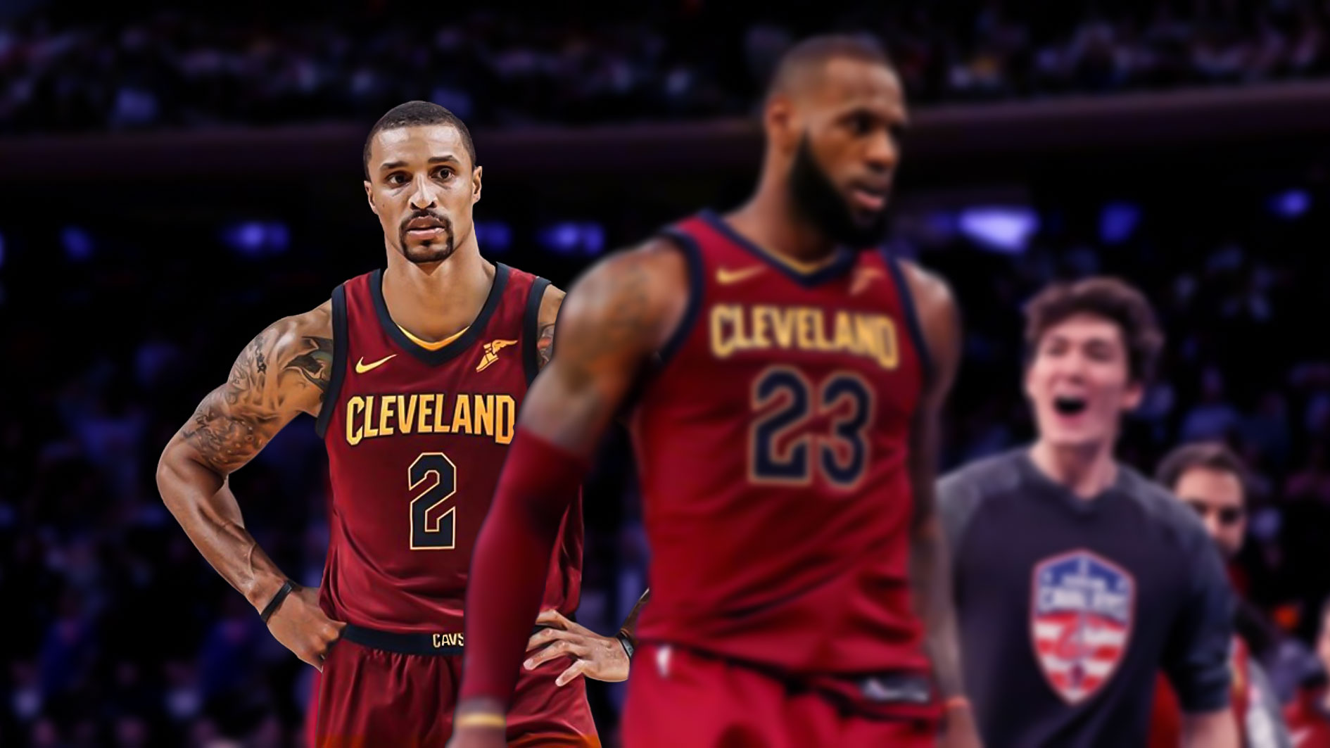 LeBron James, George Hill