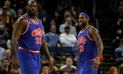 Shaquille O'Neal, LeBron James