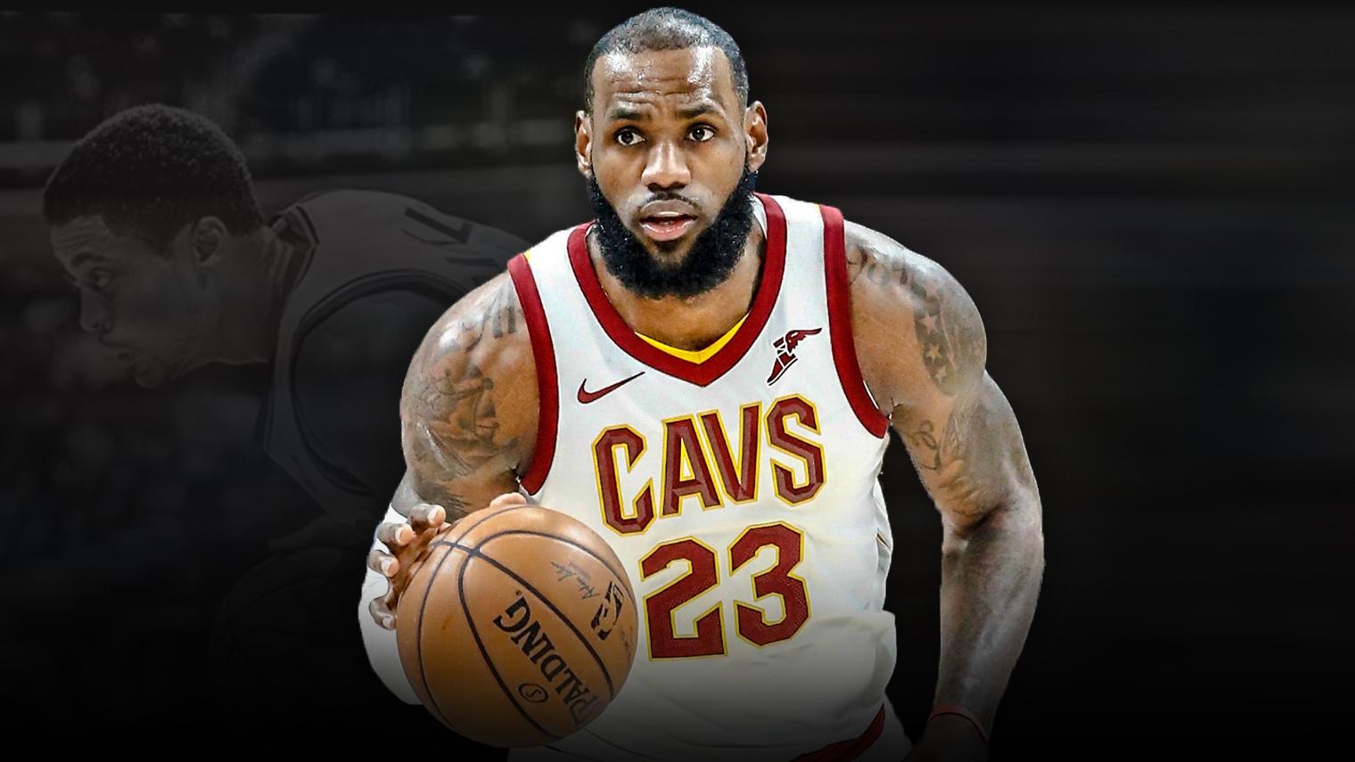 68ca0d56d79 Cavs video  LeBron James  top-10 plays of 2017-18 NBA season so far