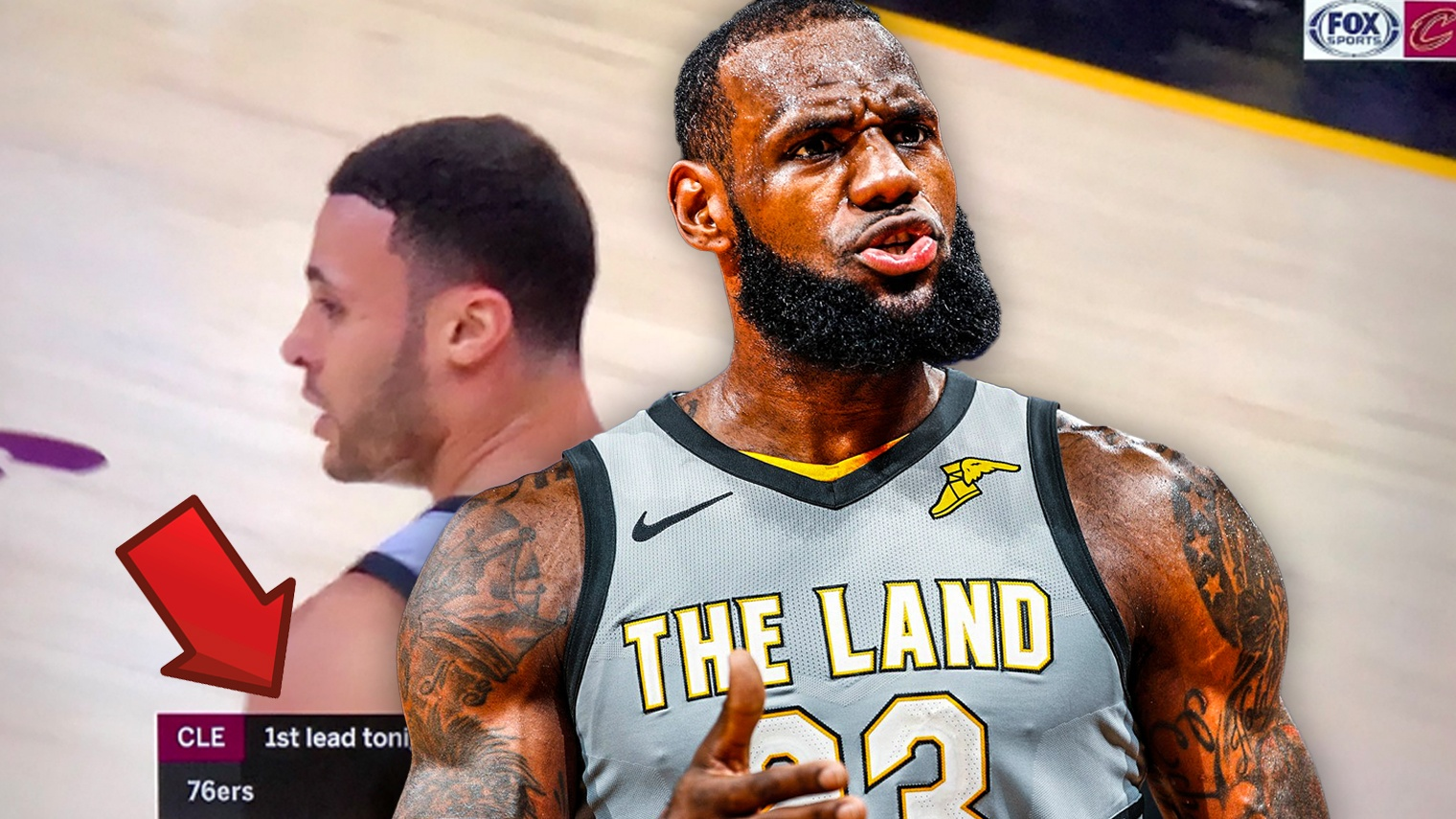 Larry Nance Jr., LeBron James