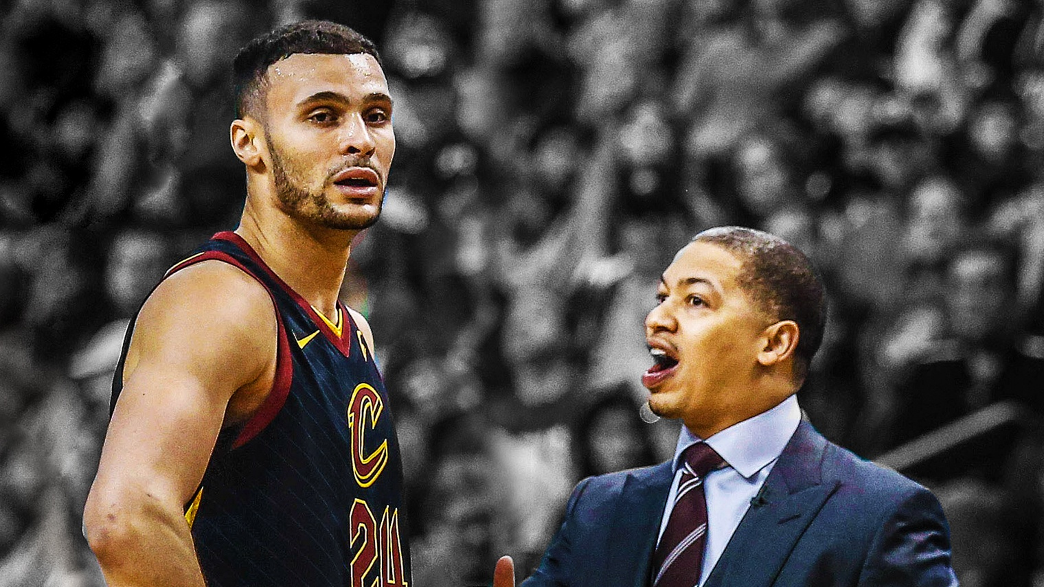 Larry Nance Jr., Tyronn Lue