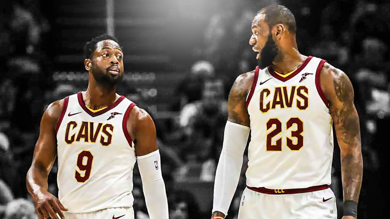 Dwyane Wade, LeBron James