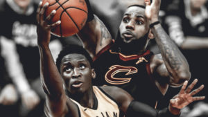 LeBron James, Victor Oladipo