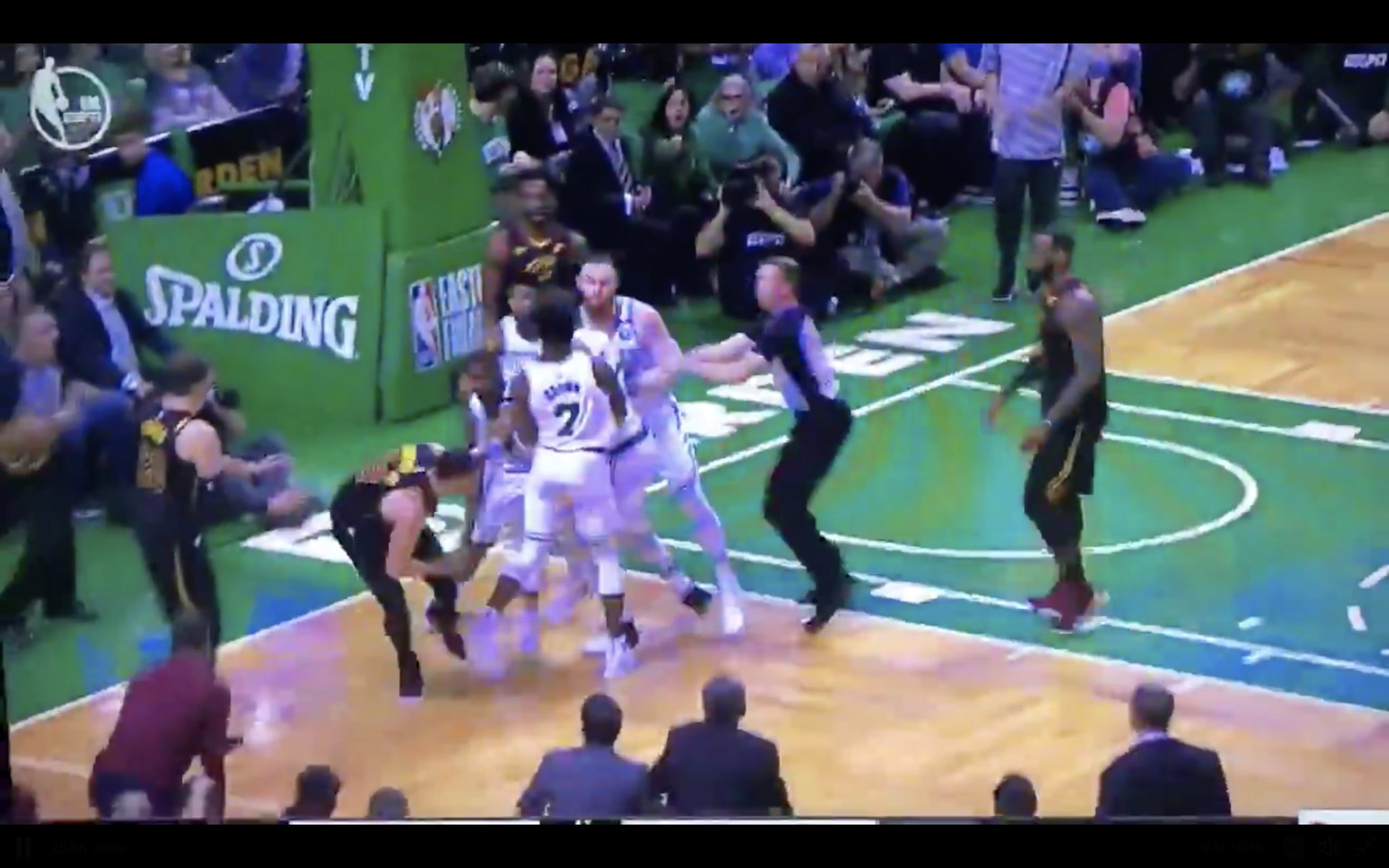 Larry Nance, Marcus Morris had a Game 5 scuffle