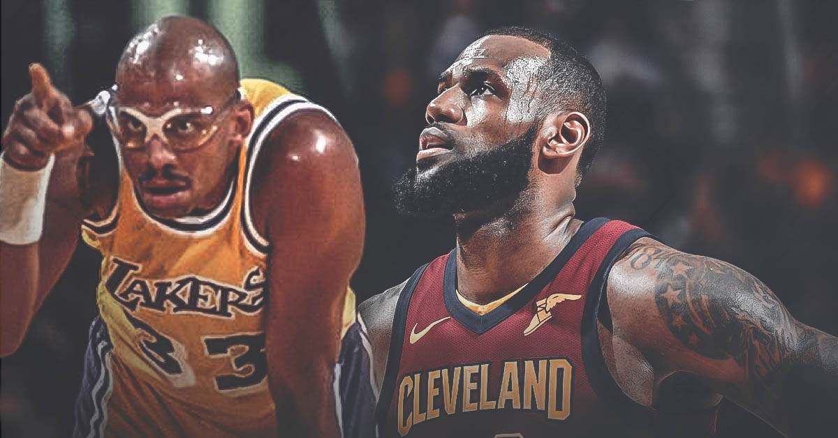 LeBron James surpasses Kareem Abdul-Jabbar's postseason field goals record