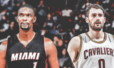 Kevin Love, Chris Bosh
