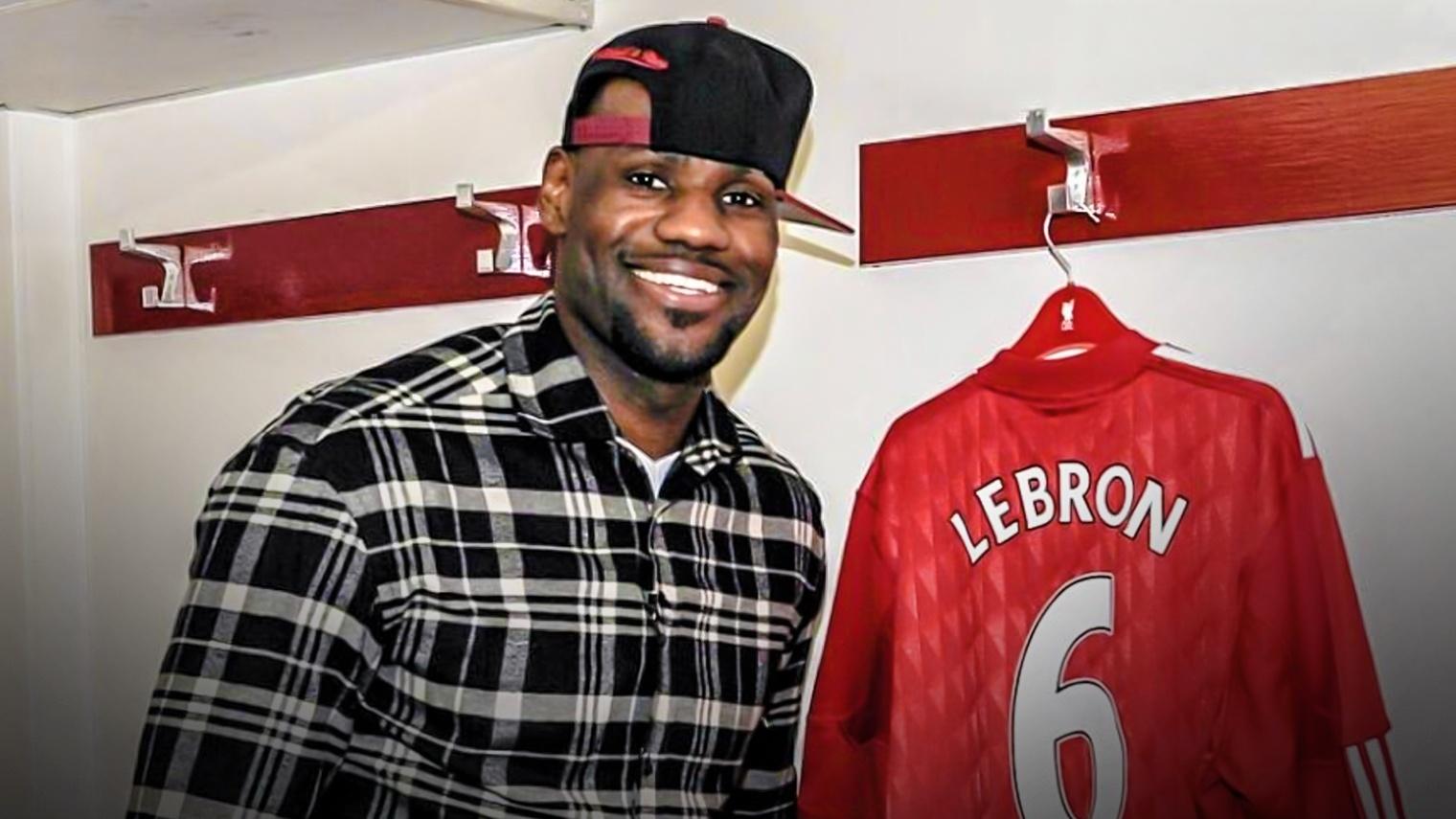 Lebron Liverpool