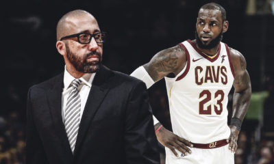 LeBron James. David Fizdale