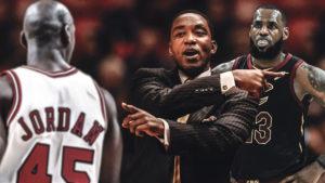 Isiah Thomas, Michael Jordan, LeBron James