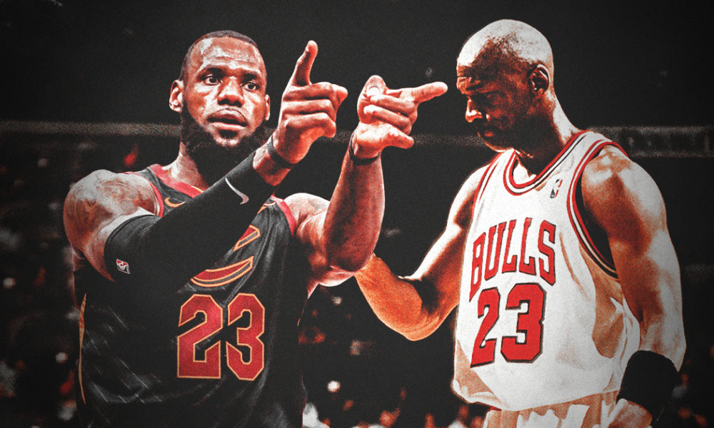 LeBron James breaks Michael Jordan's conference finals record for most 40-point games