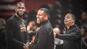 LeBron James, Damon Jones, Tyronn Lue