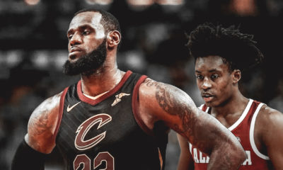 Collin Sexton, LeBron James