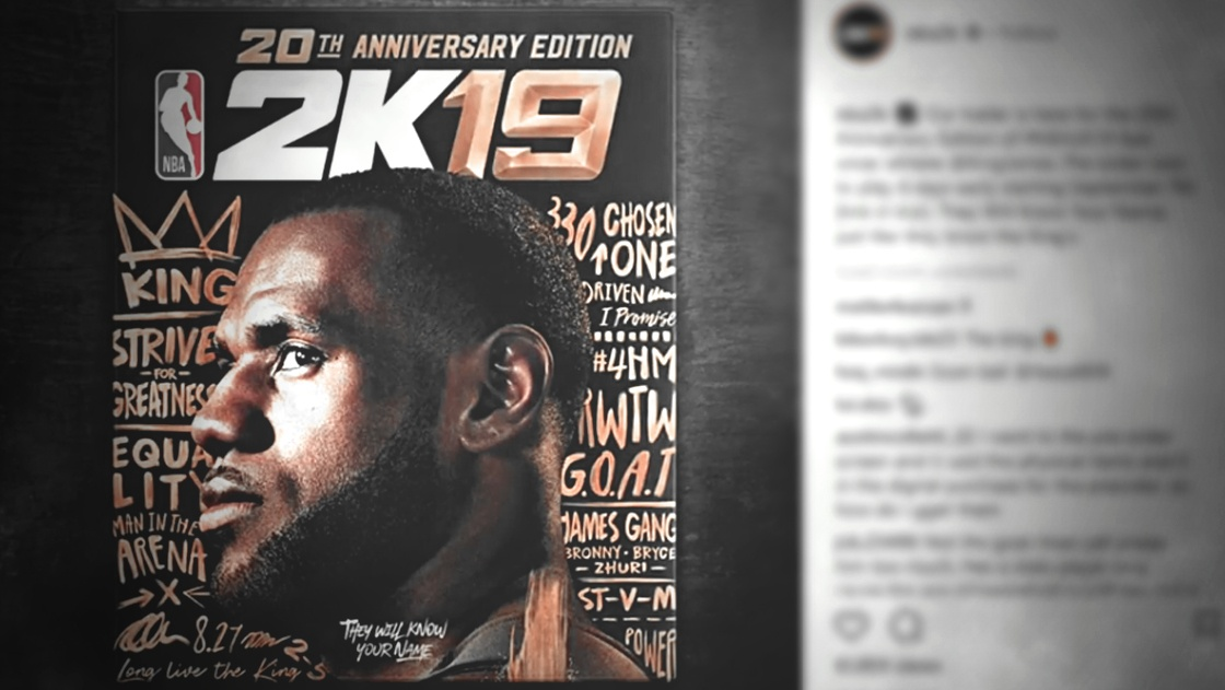 4b848e72fd6 Cavs video: NBA 2K19's first trailer featuring LeBron James is lit