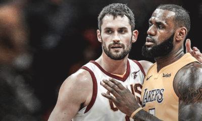 Kevin Love, LeBron James, Lakers, Cavs