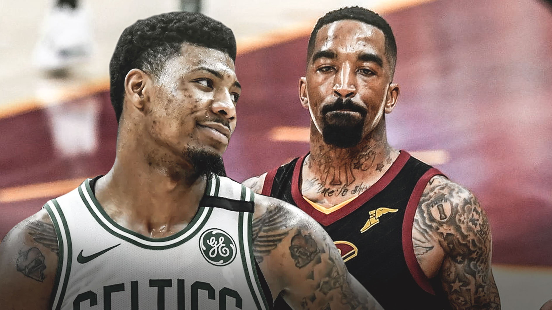 Marcus Smart ejected for shoving J.R. Smith