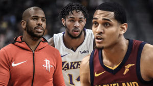 Jordan Clarkson, Brandon Ingram, Chris Paul